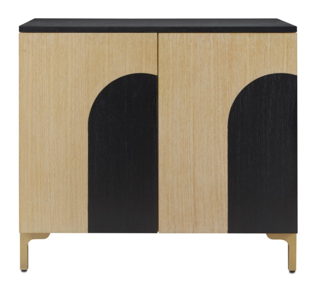 The Currey & Company Swoop Cabinet