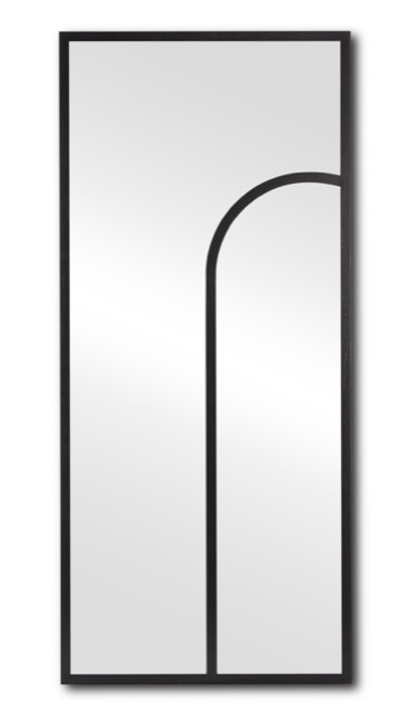The Currey & Company Swoop Mirror