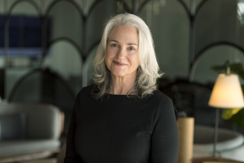 Pamela Bailey, Currey & Company's VP of Product Development & Design.