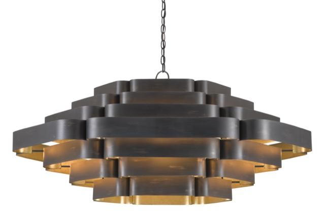The Bailey Chandelier by Currey & Company