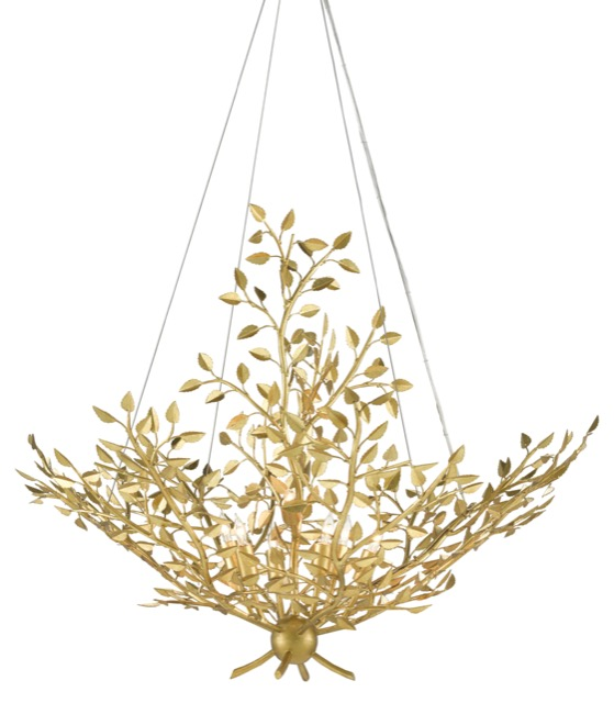 The Currey & Company Huckleberry Chandelier