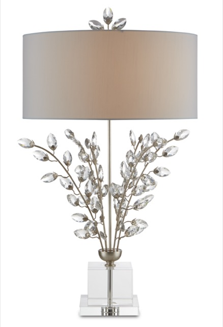 The Currey & Company Forget-Me-Not Table Lamp