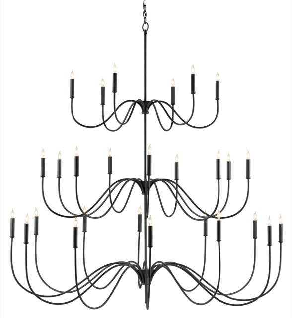 The Tirrell Large Chandelier is on trend for product development