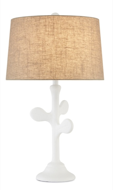 New during High Point Market was the Charny Table Lamp by Currey & Company