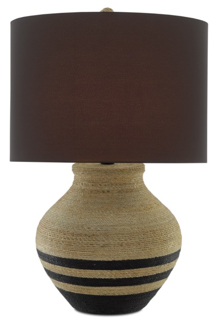 A bestseller during High Point Market was the Higel Table Lamp by Currey & Company