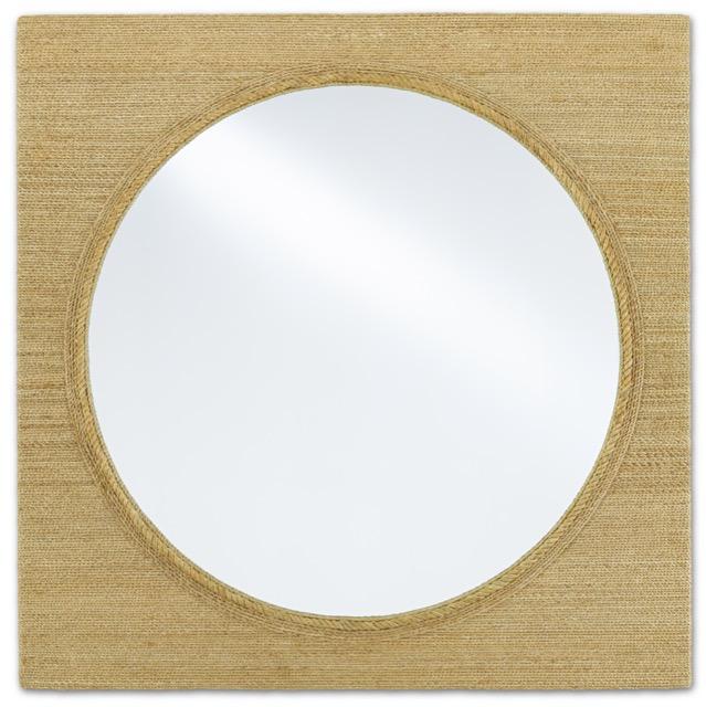 The Currey & Company Tisbury Large Mirror.