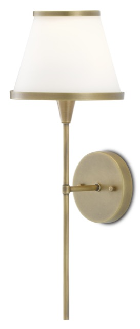 Our Brimsley Brass Wall Sconce in the new Bagno Collection.