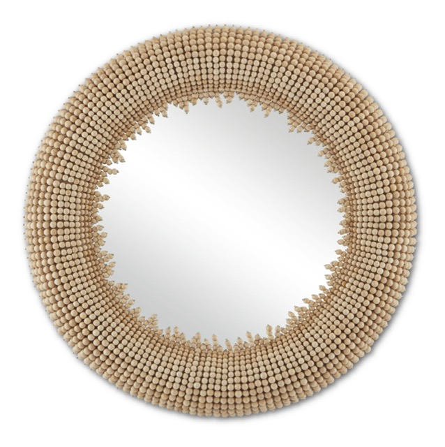 The Currey & Company Jeanie Round Mirror is among our new summer products