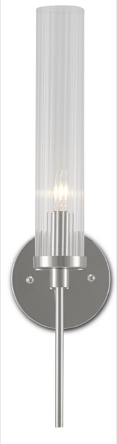 Our Bellings Nickel Wall Sconce is in our new summer 2021 introductions.