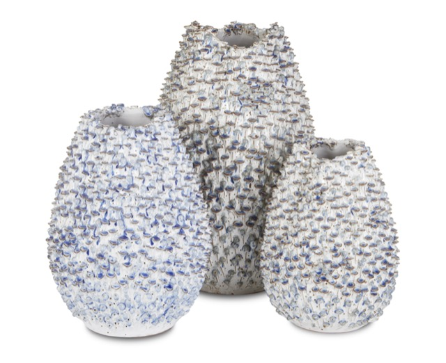 Milione Blue Vases by Currey & Company
