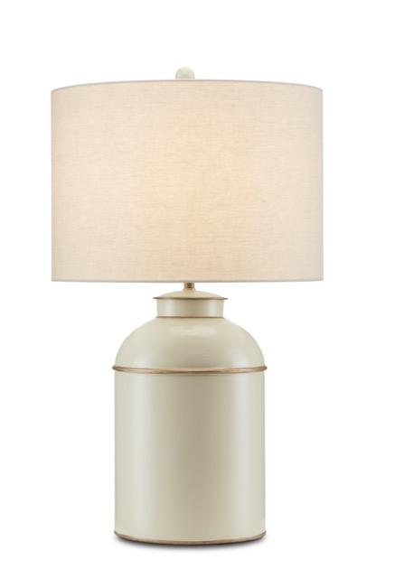 The London Ivory Table Lamp by Currey & Company is a metal table lamp with an ivory finish.