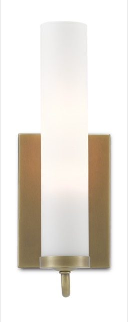The Brindisi Brass Wall Sconce is new to our offerings this summer.