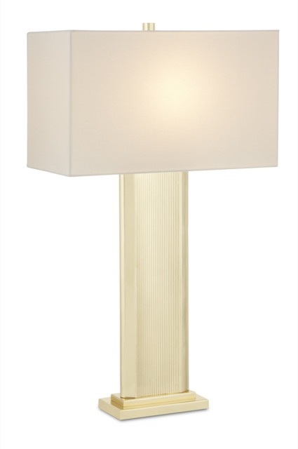 The Whistledown Table Lamp is one of Currey & Company's summery table lamps.