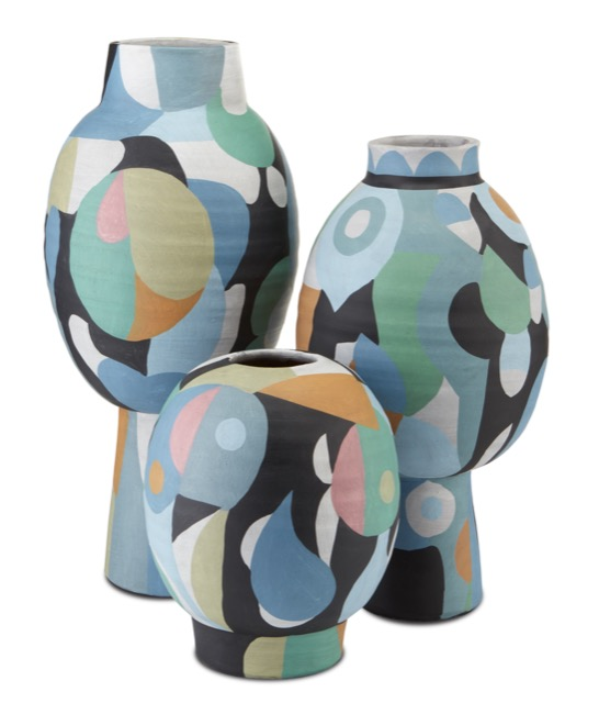 The Currey & Company So Nouveau Vases are among our new summer products