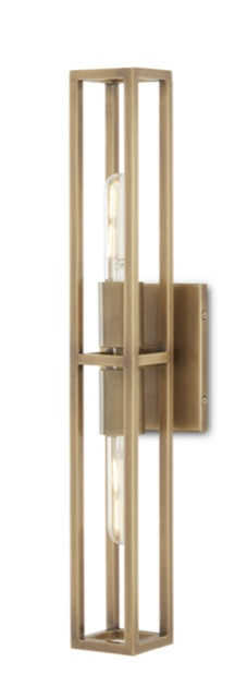 Our Bergen Brass Wall Sconce in the new Bagno Collection.