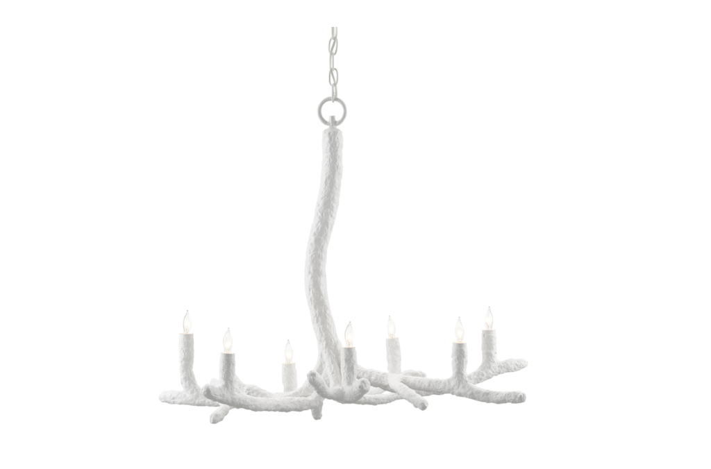 The Inverno Chandelier by Currey & Company
