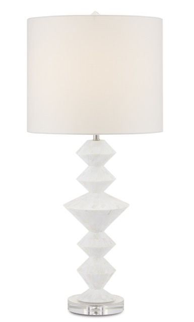 The Sheba Table Lamp by Currey & Company is one of our new pale products