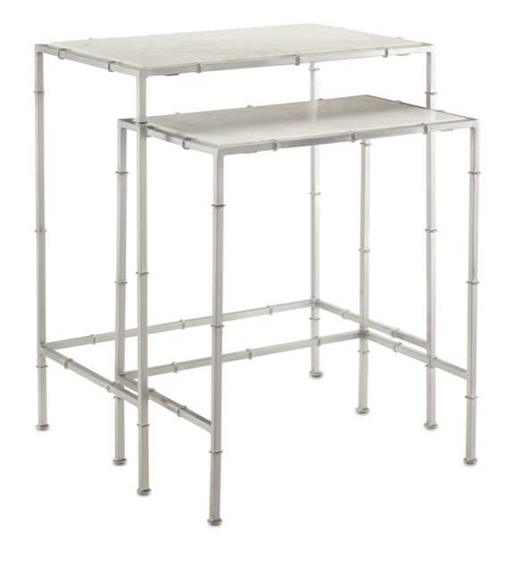 The Currey & Company Harte Nesting Tables