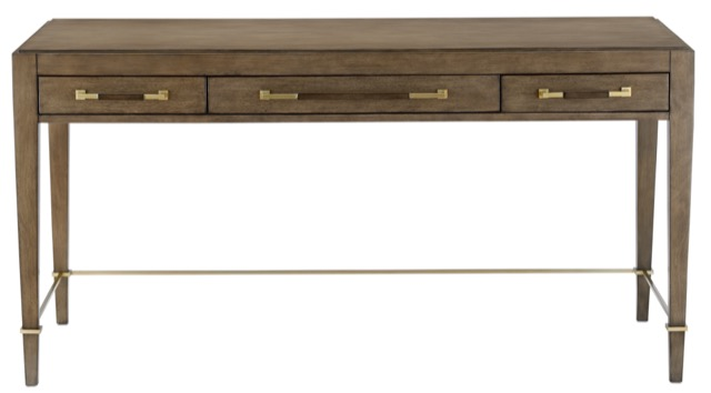The Verona Chanterelle Desk is a top pick for furnishing the home office.