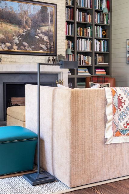 The Ruxley Bronze Floor Lamp will no doubt be the perfect reading companion for the Shaws at Brierfield Farm.