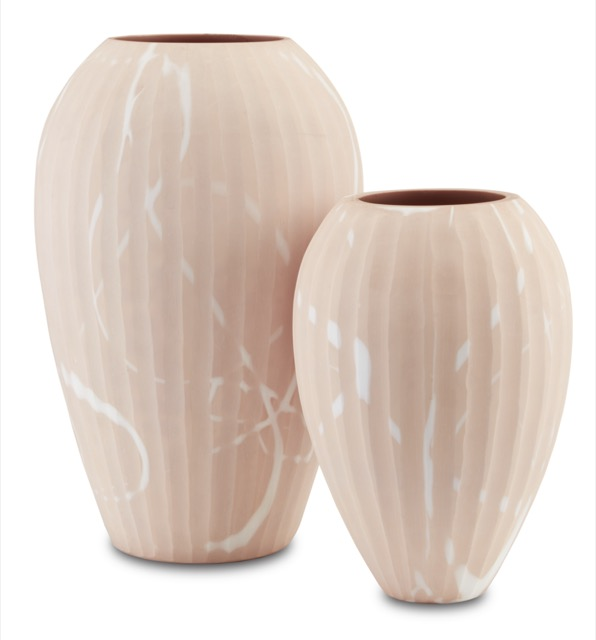 The Lawrence Sand Vase Set by Currey & Company is one of our new pale products